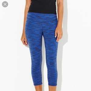 Lucy Active Wear Yoga Crop Leggings EUC!